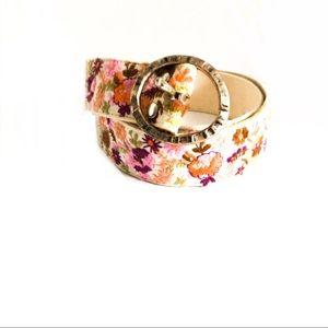 {LUCKY BRAND} Boho Floral Embroidered Belt